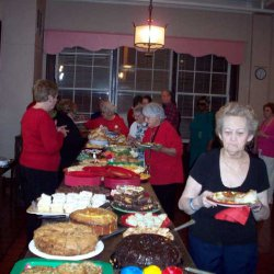 Virginia Dare Residents Christmas Party