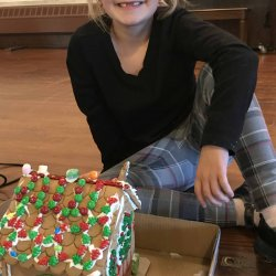 Gingerbread Houses and Santa